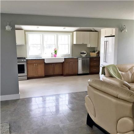 Nantucket town, Town Nantucket vacation rental - Open Kitchen with Top Appliances