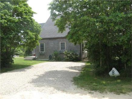 Tom Nevers, Nantucket Nantucket vacation rental - Driveway to house