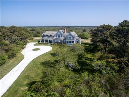 Dionis Nantucket vacation rental - Aerial View