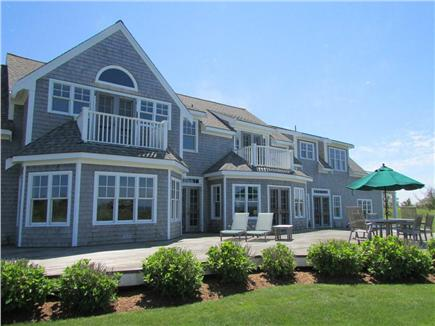 Dionis Nantucket vacation rental - Back Deck