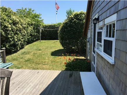 Siasconset, Nantucket Nantucket vacation rental - Private entrance deck perfect for relaxing or dining