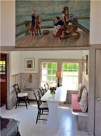 Siasconset, Nantucket Nantucket vacation rental - Dining area and nautical art