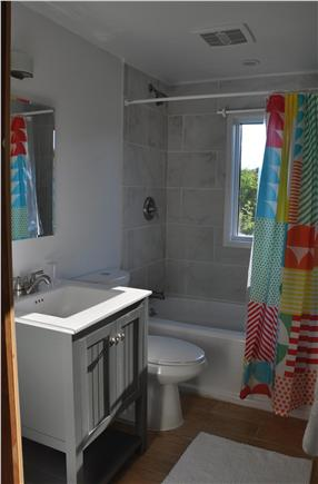 Surfside Nantucket vacation rental - First floor newly renovated bathroom