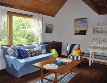 Surfside Nantucket vacation rental - The living area