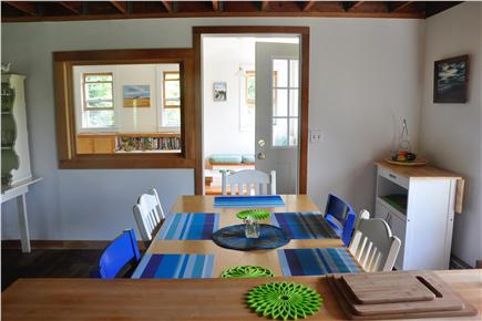 Surfside Nantucket vacation rental - View from the kitchen to the sunporch