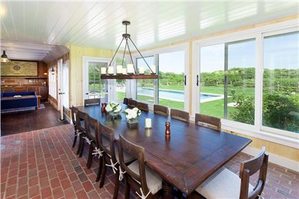 Quidnet, Nantucket Nantucket vacation rental - Dining room seats 12 comfortably