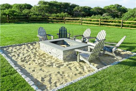Quidnet, Nantucket Nantucket vacation rental - Firepit