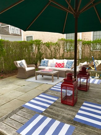 Nantucket town Nantucket vacation rental - Great patio for relaxing, grilling & outdoor dining
