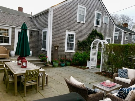 Nantucket town Nantucket vacation rental - Large patio, great for relaxing or grilling