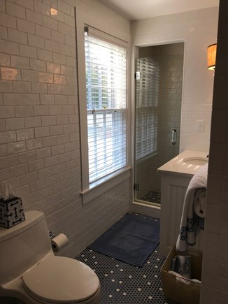 Nantucket town Nantucket vacation rental - Clean & Sleek Master bath w/ shower & tub located on first floor