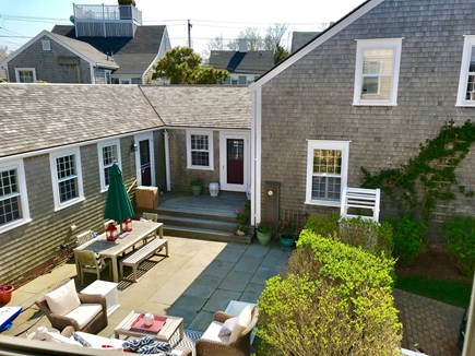 Nantucket town Nantucket vacation rental - Large Patio for relaxing, grilling & cocktails!