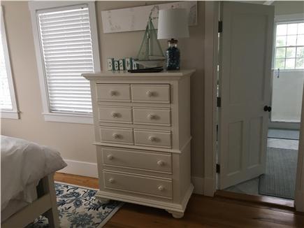 Pocomo Nantucket vacation rental - Third bedroom has a queen bed, private bathroom and patio.