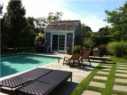 Pocomo Nantucket vacation rental - Best seats in the house (except for the hammock.)