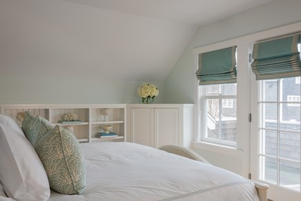 Brant Point, Nantucket Nantucket vacation rental - Second floor Master Bedroom with private deck