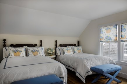 Brant Point, Nantucket Nantucket vacation rental - Second floor Bedroom with 2 queen beds