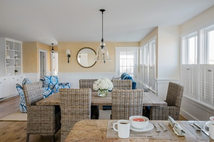 Brant Point, Nantucket Nantucket vacation rental - Dining space accommodates up to 8 people