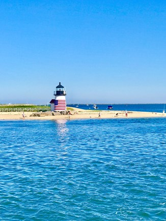 Brant Point, Nantucket Nantucket vacation rental - The iconic Brant Point Lighthouse, a 5 minute walk from Saltaire