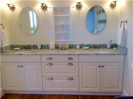 Brant Point, Nantucket Nantucket vacation rental - Spacious double sink master bath