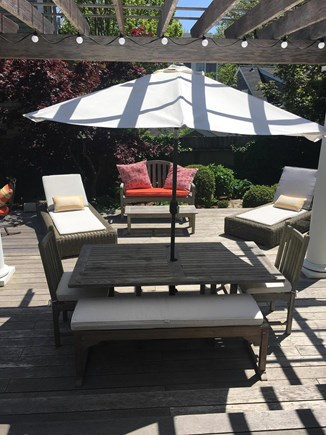 Nantucket town Nantucket vacation rental - Outdoor dining ideal for entertaining