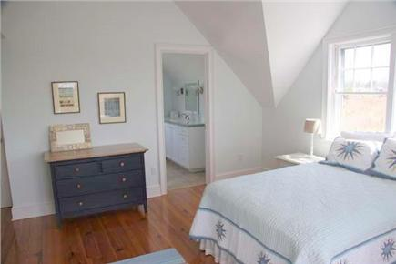 Siasconset Nantucket vacation rental - The east bedroom has views of Sconset and its own bath.