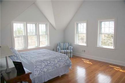 Siasconset Nantucket vacation rental - The master bedroom has views all the way to the water.