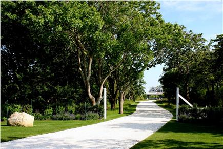 Siasconset Nantucket vacation rental - Our 'Sconset house is on its own long, private, shell driveway.