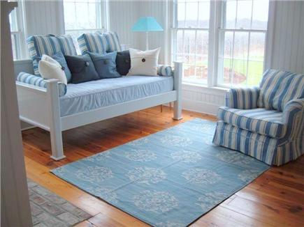 Siasconset Nantucket vacation rental - Our sunroom has a daybed, a trundle bed, and its own bath.