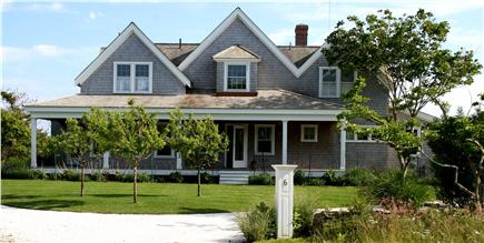 Siasconset Nantucket vacation rental - A view from of the front of our beautiful Sconset rental house.