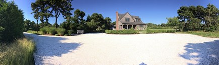Surfside Nantucket vacation rental - Clamshell driveway with ample parking