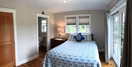 Surfside Nantucket vacation rental - Queen bed with en suite bath