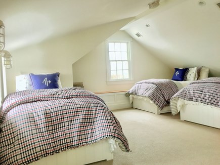 Nantucket town Nantucket vacation rental - Sunny third floor bedroom with full bath