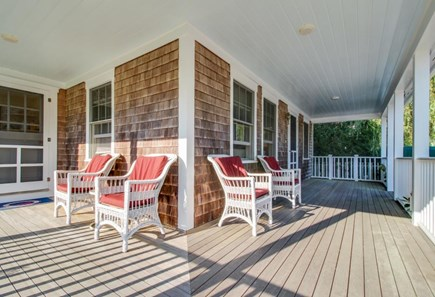 Nantucket town Nantucket vacation rental - Plenty of outdoor seating can be found on the wrap-around porch