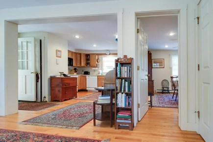 Nantucket town Nantucket vacation rental - Just beyond the living room is the fully stocked kitchen
