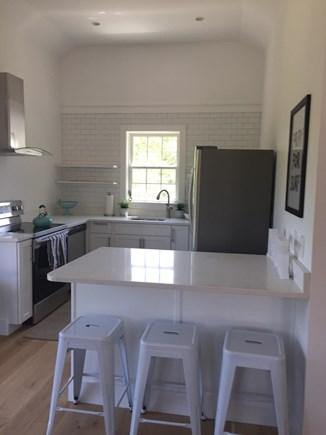 Nantucket town Nantucket vacation rental - Kitchen with peninsula
