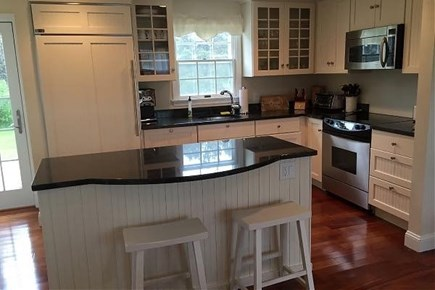 Dionis Nantucket vacation rental - Updated kitchen with subzero fridge. Fully equipped for dining in