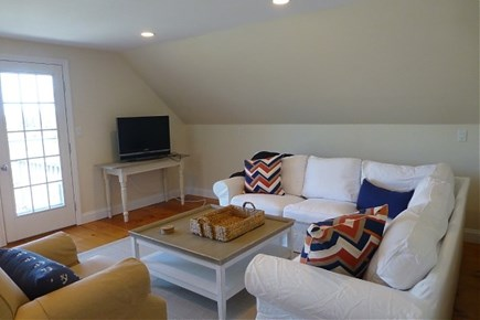 Dionis Nantucket vacation rental - Spacious TV/Bonus room with cozy deck for cocktails