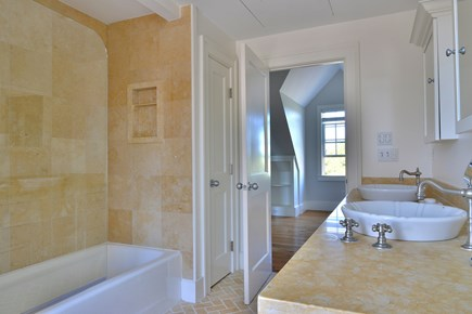 Madaket, Cliff Nantucket vacation rental - Upstairs bathroom with bath and shower
