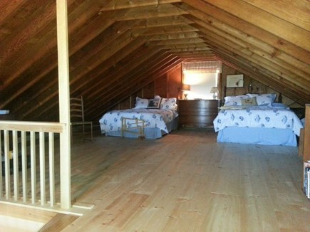 Wauwinet Nantucket vacation rental - Sleeping loft- 2 twin beds, 2 double beds