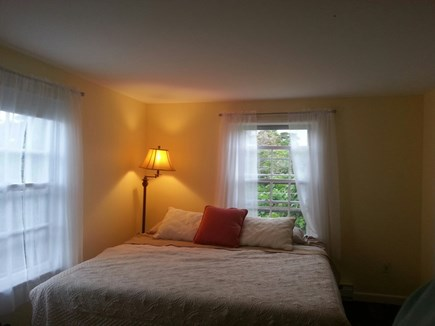 Wauwinet Nantucket vacation rental - Bedroom with king size bed and desk