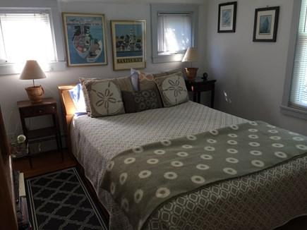 Nantucket town, Nantucket Nantucket vacation rental - Downstairs bedroom with queen bed