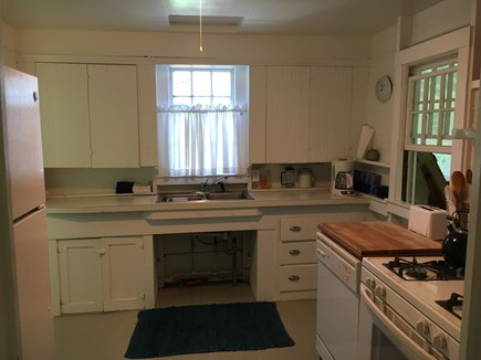 Siasconset Nantucket vacation rental - Into the kitchen