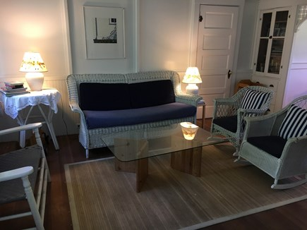 Siasconset Nantucket vacation rental - Sit and chat awhile