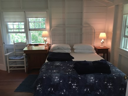Siasconset Nantucket vacation rental - Left into the master suite with queen bed