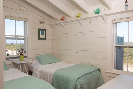 Madaket Nantucket vacation rental - Twin bedroom