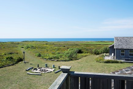 Madaket Nantucket vacation rental - View from the upper deck