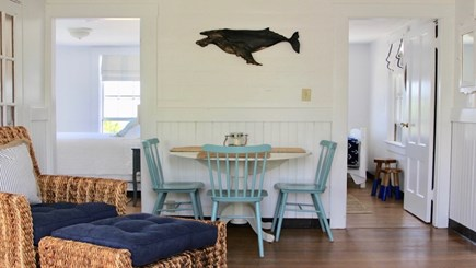 Siasconset Nantucket vacation rental - Dining Table Seating