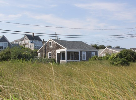 Siasconset Nantucket vacation rental - Direct Oceanfront - Cottage View From 'Sconset Beach