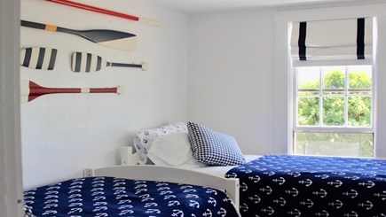 Siasconset Nantucket vacation rental - Bedroom 2 with Two Twin Beds
