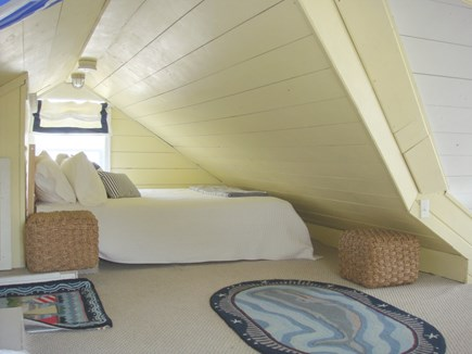 Siasconset Nantucket vacation rental - Loft with Queen Bed on one side...