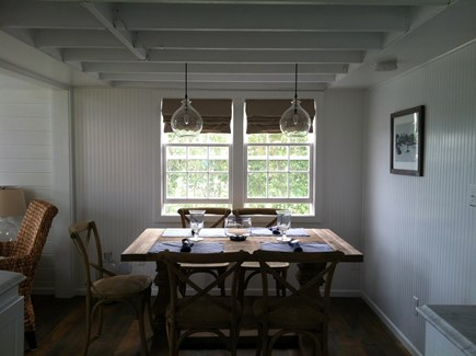 Siasconset Nantucket vacation rental - Dining Table with Seating for 6